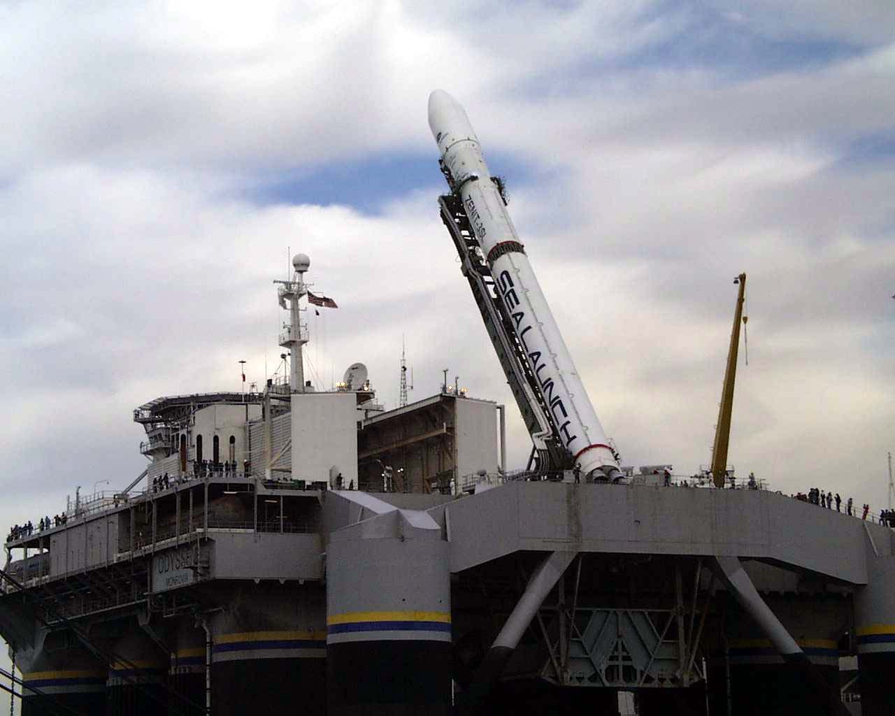 Sea launch морской старт